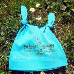 Les Bonnets BEBE Petite graine Made in Haute-Loire